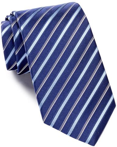 Hugo BossHUGO BOSS Silk Diagonal Stripes Tie