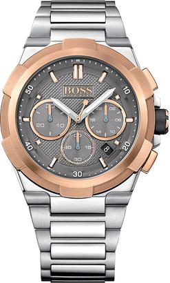 HUGO BOSS 1513362 supernova stainless steel watch $395 thestylecure.com