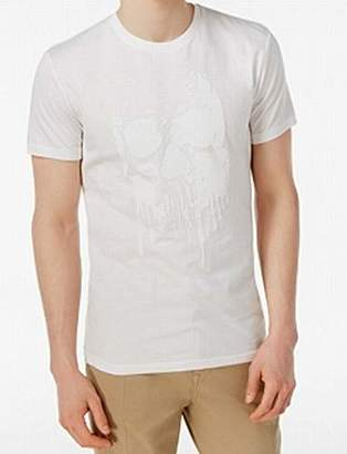 William Rast Men's Graphic Skull of Drips Tee Shirt