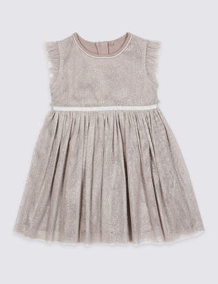 Marks and Spencer Sparkle Dress (3 Months - 7 Years)