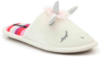 Kensie Unicorn Scuff Slipper - Women's