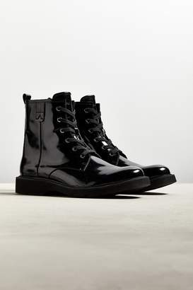 Calvin Klein Anselm Patent Lace-Up Boot