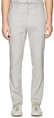 Theory Men's Zaine Linen-Blend Slim Straight Trousers