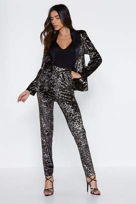 Nasty Gal Leader of the Pack Leopard Pants