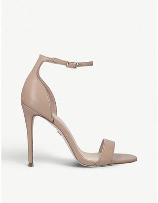 Kurt Geiger Ali faux-leather heeled sandals