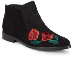 Floral Ankle-Boots