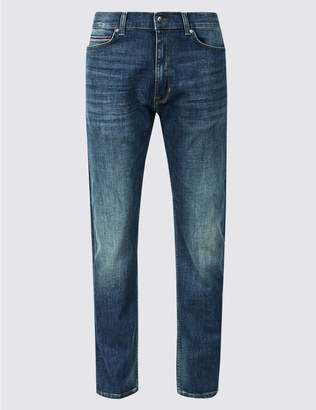 Marks and Spencer Tapered Fit Jeans with Stretch