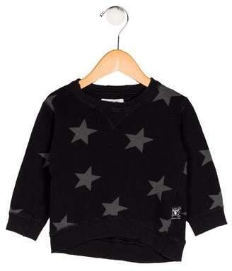 Nununu Boys' Star Print Sweater