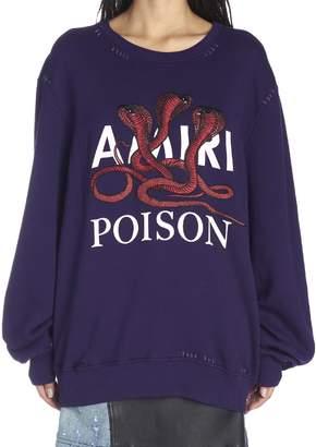 Amiri 'poison Snake' Sweatshirt