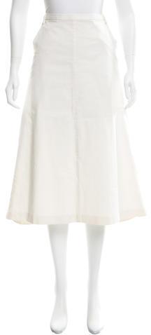 Dolce & GabbanaDolce & Gabbana A-Line Midi Skirt