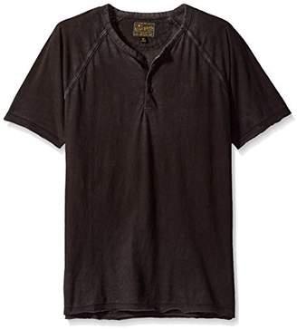 Lucky Brand Men's Pigment Dyed Henley Shirt