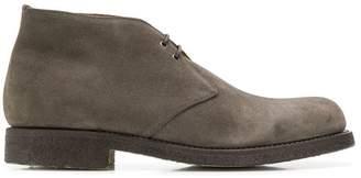 Green George chukka desert boots