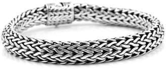 John Hardy 925 Sterling Silver Classic Wheat Bracelet