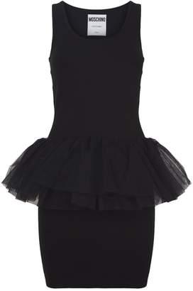 Moschino Puff Skirt Mini Dress