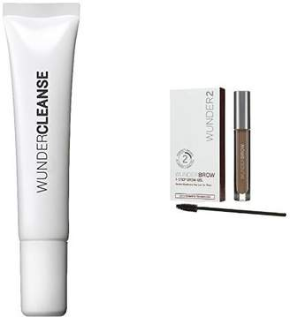 WUNDERCLEANSE Brow Cleanser and WUNDERBROW Perfect Eyebrows in 2 Mins - Blonde Duo Set