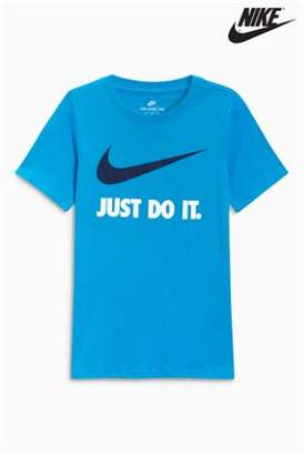 Next Boys Nike Just Do It. Swoosh Logo T-Shirt