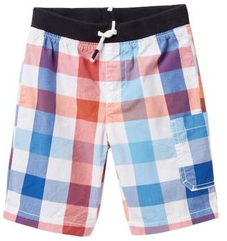 Joe Fresh Poplin Plaid Shorts (Toddler & Little Boys)