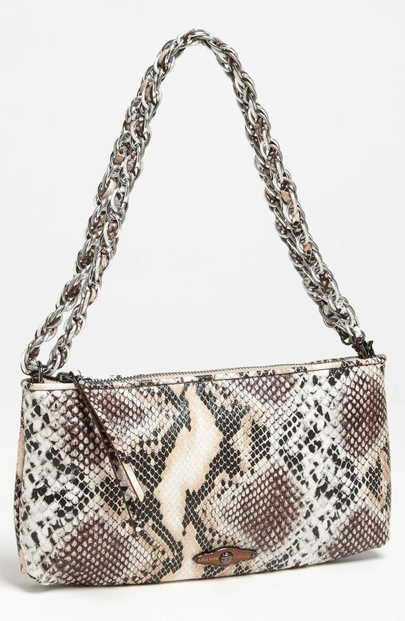 Elliott Lucca '3-Way' Woven Leather Demi Bag