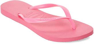 Havaianas Shocking Pink Slim Flip Flops