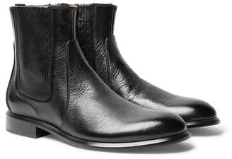 Givenchy Cruz Full-Grain Leather Chelsea Boots - Black