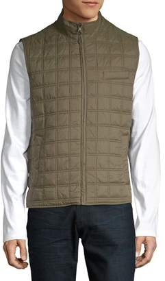 Black Brown 1826 Box Quilted Vest