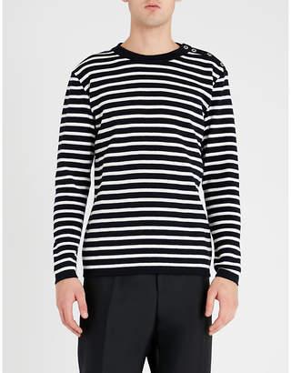 S.N.S. Herning Naval striped wool jumper