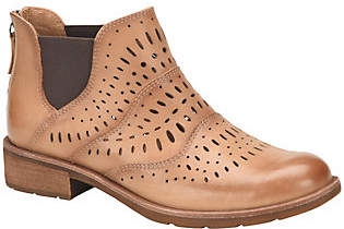 Sofft Perforated Leather Chelsea Boots - Brenley