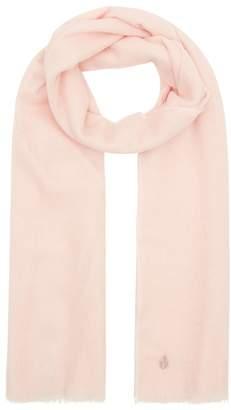 997f4e9d0c259 Amanda Wakeley Blush Pink Cashmere Scarf