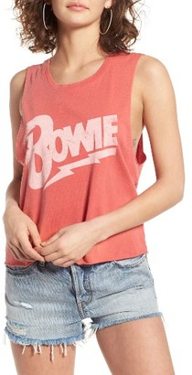 Women's Daydreamer Bowie Let's Dance Muscle Tee $55 thestylecure.com