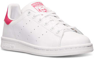 adidas Big Girls' Stan Smith Casual Sneakers from Finish Line $64.99 thestylecure.com