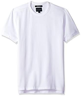 Lucky Brand Men's Coolmax Pique Crew Neck TEE Shirt