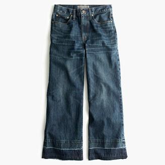 Point Sur culotte jean in Blue Poppy wash