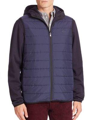 Lacoste Double-Face Reversible Hooded Jacket