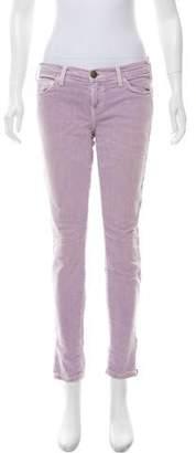 Current/Elliott Mid-Rise Skinny Jeans