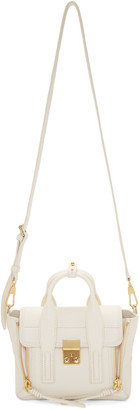 3.1 Phillip Lim Off-White Mini Pashli Satchel $695 thestylecure.com
