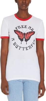 Off-White Off White Butterfly Tee