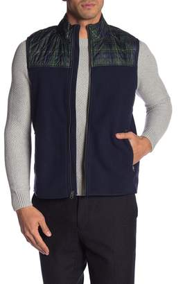 Brooks Brothers Quilted Polar Fleece Vest