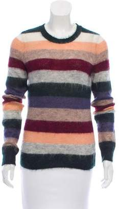 Etoile Isabel Marant Striped Mohair Sweater