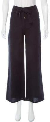 Ulla Johnson Wide-Leg High-Rise Pants