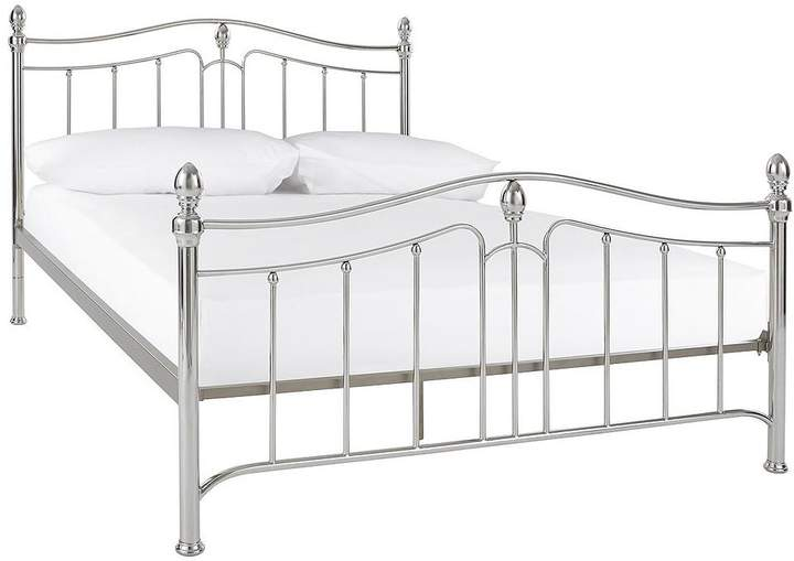 Cirencester Double Metal Bed Frame With Optional Mattress