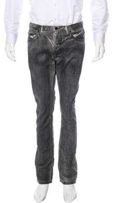 Helmut Lang Coated Slim Jeans