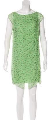 3.1 Phillip Lim Floral Silk Mini Dress