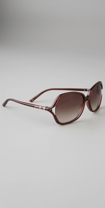 Yves Saint Laurent Cut Out Sunglasses