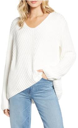 Chelsea28 Rib Knit Sweater