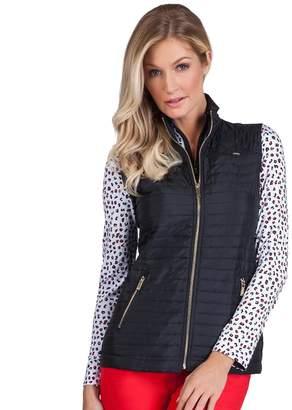 Lee Women's Tail Full-Zip Quilted Golf Vest