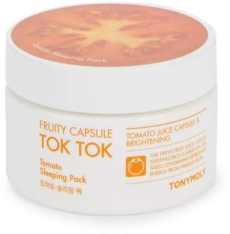 Tony Moly Fruity Capsule Tok Tok Revitalizing Tomato Sleeping Pack