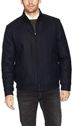 Andrew Marc Men's Barlow Melton Wool Bomber Jacket