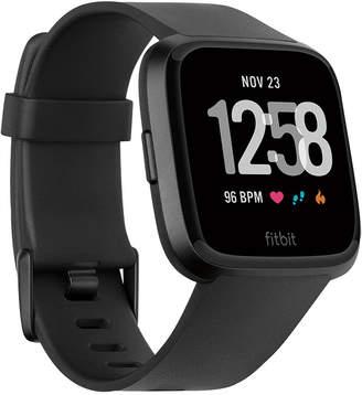Fitbit VersaTM Black Band Touchscreen Smart Watch 39mm