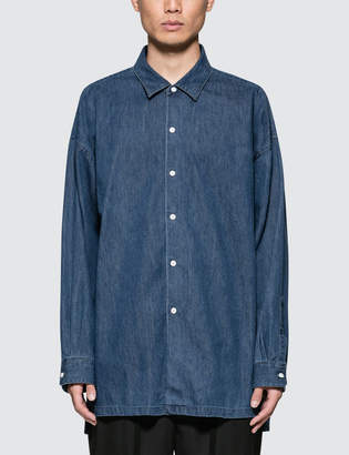 Monkey Time Denim Long Shirt
