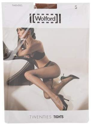 Wolford Fishnet Semi-Sheer Tights w/ Tags